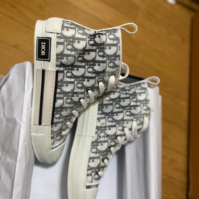 Christian Dior(クリスチャンディオール)のDior ハイトップオブリーグ b23 サイズ39 メンズの靴/シューズ(スニーカー)の商品写真