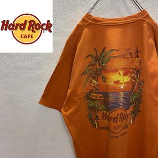 ロックハード(ROCK HARD)の【激レア】Hard Rock CAFE ハードロックカフェ 南国 Tシャツ(Tシャツ/カットソー(半袖/袖なし))