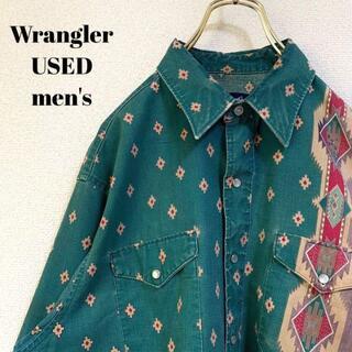 ラングラー(Wrangler)のWrangler ラングラー メンズ 長袖ウエスタンシャツ ビッグサイズ XL(シャツ)