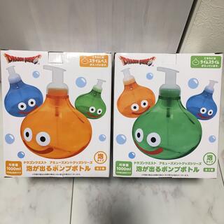 タイトー(TAITO)の[新品未開封] ドラゴンクエスト スライム 泡が出るポンプボトル 2点セット(ゲームキャラクター)
