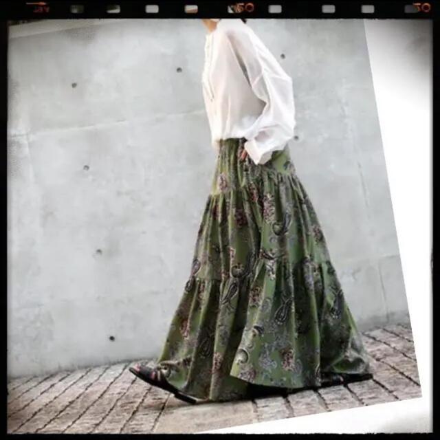 antiqua(アンティカ)のタイムサービス❤︎9890円→ レディースのスカート(ロングスカート)の商品写真