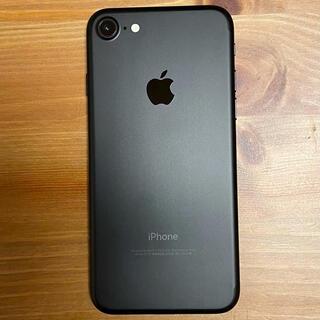 iPhone - 【美品】完動品iphone7本体 ブラック 128G sim解除済