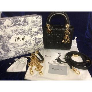 Christian Dior - レディーディオール Lady Dior レディディオール【美品】