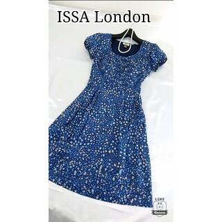 イッサロンドン(Issa London)の美品♪ イッサロンドン ワンピース(ひざ丈ワンピース)