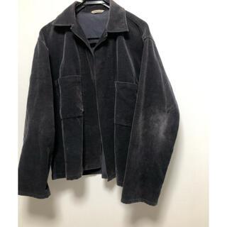 COMOLI - auralee corduroy shirt jacket サイズ4 17ss