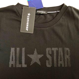 CONVERSE - 【新品】converse  Tシャツ ALL STAR コンバース L ブラック