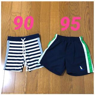 ニシマツヤ(西松屋)の水着 90、西松屋 水着 95、2枚セット、男の子(水着)
