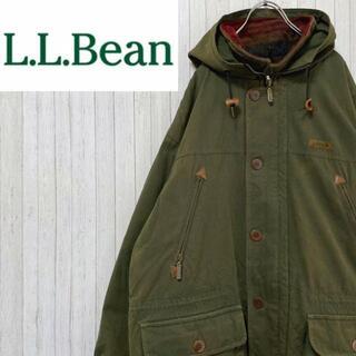 エルエルビーン(L.L.Bean)のエルエルビーン ハンティングジャケット ブランケットインナー グリーン ブルゾン(ブルゾン)