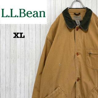 エルエルビーン(L.L.Bean)のエルエルビーン インナー付き ハンティングジャケット 襟コーデュロイ XL(ブルゾン)