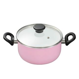 キョウセラ(京セラ)のKYOCERA 京セラ 両手鍋 20cm ピンク(鍋/フライパン)