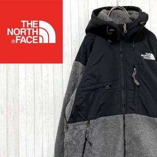 THE NORTH FACE - ノースフェイス フリースジャケット パーカー 刺繍ロゴ ジップアップ S