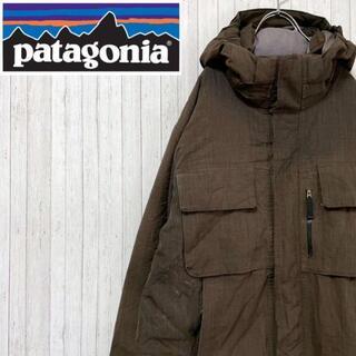 patagonia - パタゴニア ダウンジャケット ジップアップ マルチポケット アウトドア M