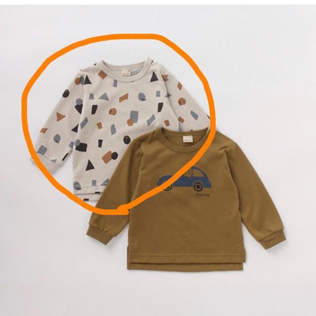 petit main(プティマイン)の【未使用品】プティマイン ロンT  Tシャツ 長袖 キッズ/ベビー/マタニティのベビー服(~85cm)(トレーナー)の商品写真