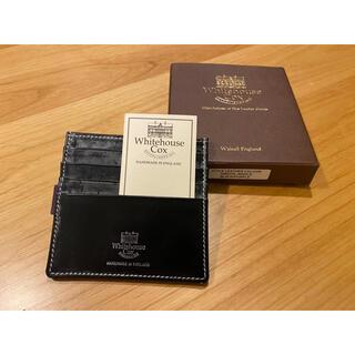 ホワイトハウスコックス(WHITEHOUSE COX)のホワイトハウスコックス Whitehouse Cox カードケース (折り財布)
