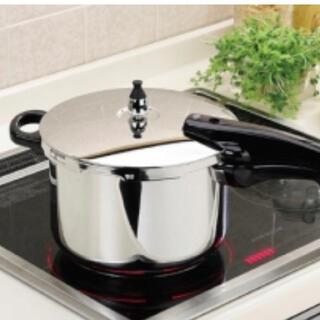 パール金属圧力鍋 IH対応 5合炊き 新品