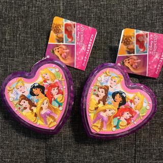 新品 ディズニープリンセス ハートケース お菓子ギフト 2点(菓子/デザート)
