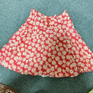 トゥララ(TRALALA)のtralala 花柄 スカート 🌸(ミニスカート)