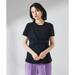 ステュディオス(STUDIOUS)のUNITED TOKYO ブロッキングツイスト 半袖 カットソー(シャツ/ブラウス(半袖/袖なし))