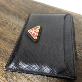 PRADA プラダ サフィアーノ カードケース