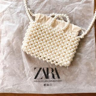ZARA - zara パール ショルダーバッグ ミニバッグ 結婚式