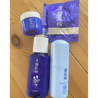 セッキセイ(雪肌精)のKOSE雪肌精セット 化粧水限定ミッキデザイン(サンプル/トライアルキット)