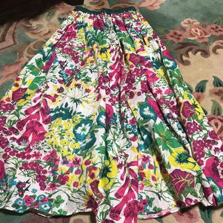 Drawer - drawer★ 春夏商品!フラワー柄スカート サイズ36 超美品