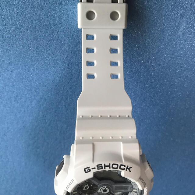 G-SHOCK(ジーショック)の☆美品 カシオ G-SHOCK 腕時計 GA-110C デジタル白 White メンズの時計(腕時計(デジタル))の商品写真