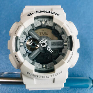 G-SHOCK - ☆美品 カシオ G-SHOCK 腕時計 GA-110C デジタル白 White