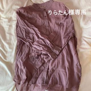 GRL - GRL ロングシアーシャツ