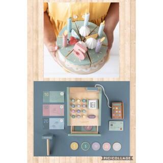 ボンポワン(Bonpoint)のリトルダッチ  little Dutch 木製 レジ バースデーケーキ(知育玩具)