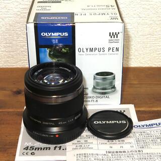 OLYMPUS - OLYMPUS ZUIKO DIGTAL 45mm F1.8 BLACK