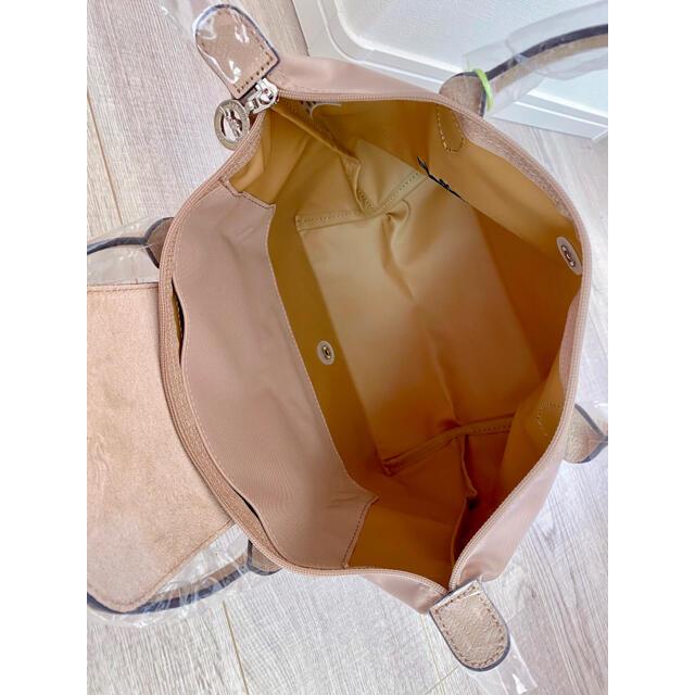 LONGCHAMP(ロンシャン)のロンシャン ル プリアージュ クラブ Sサイズ ホーソーン ハンドバッグ レディースのバッグ(ハンドバッグ)の商品写真