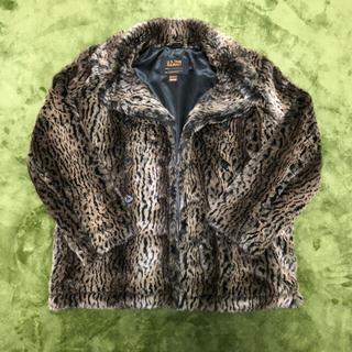 シュプリーム(Supreme)のSupreme Schott Fur Jacket Leopard(ブルゾン)