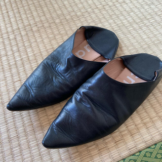 アクネ(ACNE)のAcne studios アクネ フラットシューズ 靴 パンプス 36 23cm(ハイヒール/パンプス)