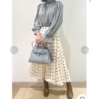 snidel - 限界価格 スナイデル 大人気完売 プリントボリュームフレアスカート