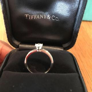 Tiffany & Co. - ティファニー ダイヤリング 美品