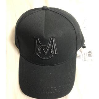 モンクレール(MONCLER)の【black】moncler モンクレール  ベースボールキャップ(キャップ)