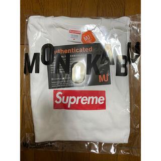 Supreme - Supreme Box Logo L/S Tee 白 Mサイズ