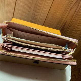 長財布 赤×ピンク 最安値