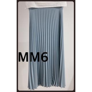 エムエムシックス(MM6)のmm6プリーツスカート ロングスカート(ロングスカート)