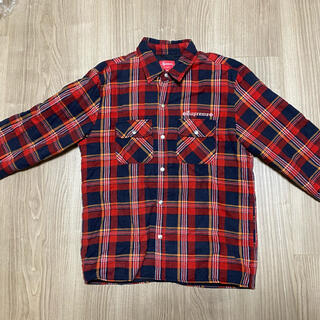 Supreme - supreme independent flannel shirt