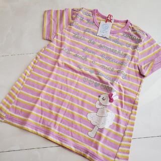 ニットプランナー(KP)の新品未使用ボーダーTシャツ130(Tシャツ/カットソー)
