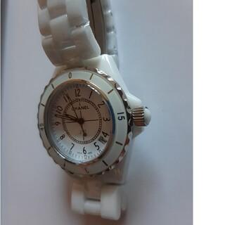 新品未使用 セラミック腕時計 メンズ 白 検索 J12