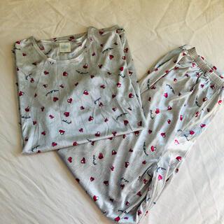 GU - 新品 長袖薄手パジャマ 上下セット