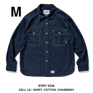 W)taps - M WTAPS CELL LS SHIRT CHAMBRAY DENIM