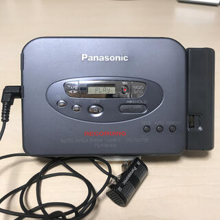 SONY - Panasonic カセットプレーヤー RQ-SX70F