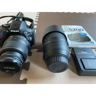 Nikon - Nikon D5200 ダブルズームキット