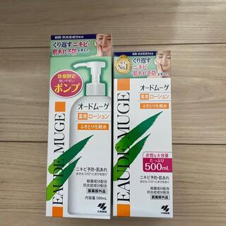 コバヤシセイヤク(小林製薬)のオードムーゲふきとり化粧水500ml×2本(化粧水/ローション)