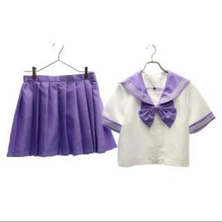 セーラー服 紫(衣装一式)