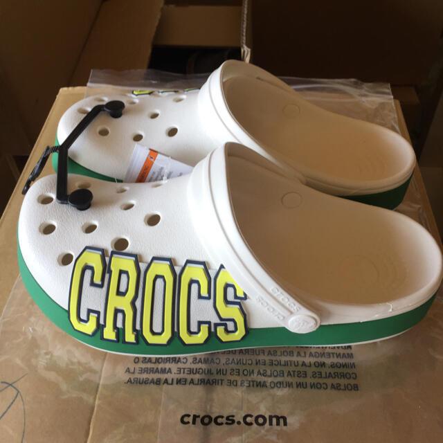 crocs(クロックス)のクロックス 24㎝ 新品・未使用 レディースの靴/シューズ(サンダル)の商品写真